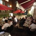 肉ビストロ&クラフトビール ランプラント - テラスでビアホール系のパーティー