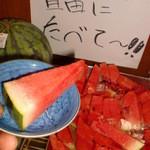 因島産直センターうまや - 食後は食べ放題