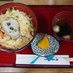 味工房 じねん - じねん丼(800円)