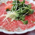 お食事処 割烹 竹 - 宮古牛の刺身