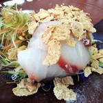 お食事処 割烹 竹 - 白身魚の「竹」オリジナルサラダ