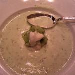 GINZA HABSBURG VEILCHEN - 胡瓜の冷製スープ