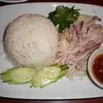 にんにくやマナオ - 海南鶏飯