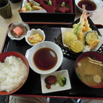 千里わかたけ - 料理写真:天ぷら定食