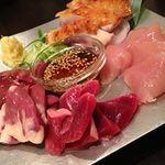 T2 スミコウテツ - 料理写真:大和肉鶏お造り5種盛り