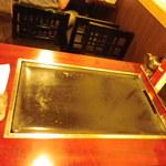 テッペン。 - 卓上 鉄板は40×80センチ位
