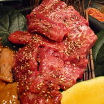 和牛焼肉 布上 - ☆ハラミもタレで食べちゃいましょう☆