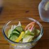 煉瓦場 - 料理写真:セットのサラダ(2013年7月)