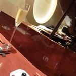 20020913 - 突き出しのオリーブ&シャンパン
