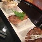 牛骨屋 バカボーン - 肉飯三種盛り
