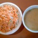 20022065 - サラダと野菜スープ