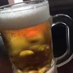 マンチーズ - 生ビール