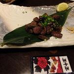 20024473 - さつま知覧鶏(ちらんどり)の鉄板焼き:819円