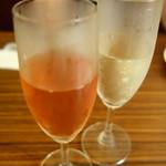 20027356 - キールロワイヤル&生スパークリングワイン!