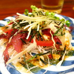 岩亀 - トマトサラダ350円