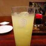 岩亀 - グレープフルーツサワー350円