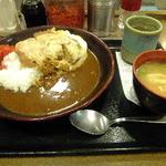 神戸らんぷ亭 - カツ丼カレー