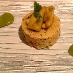 Ripaille - アミューズは、くすくすのサラダ仕立て...