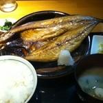 手料理 うみ野 - 魚ランチ さば開き定食