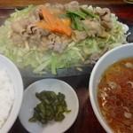 千徳 - スタミナじゅうじゅう焼ライス:770円