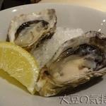 ガンボ&オイスターバー - 生牡蠣2ピース