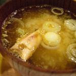 鮨 いつき - 味噌汁