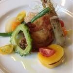 アグロドルチェ - 若鶏のコンフィ