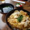 割烹こばやし - 料理写真:親子丼(\680)盛り良し、美味しいらしい!親子丼は見た目で判りますよね♪