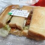 あんべそうざい店 - そして、ロースカツサンド。¥660円