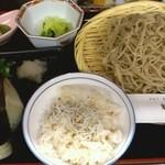 Suigen - ざる定食めん大盛 ¥880