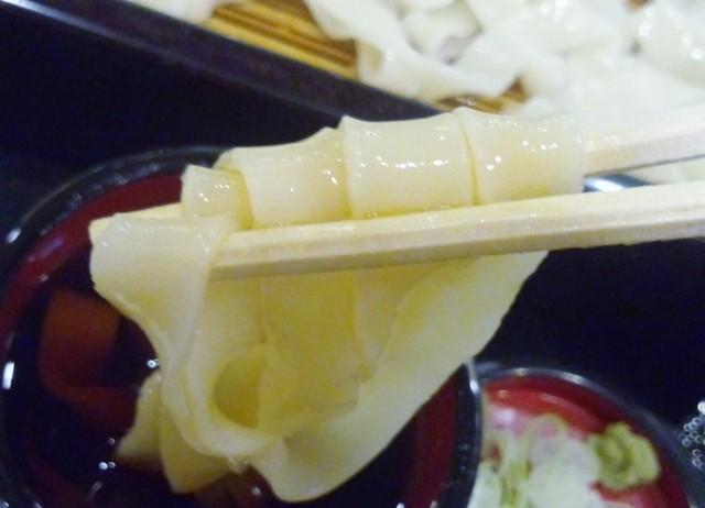 安曇野庵 地下鉄名駅店 - きし麺リフト~♪苦手だけど成功した(笑)