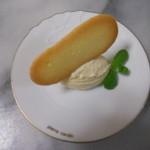 La・Blanche - マスカルポーネアイスクリーム(デザート)