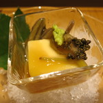 みや - 玉蜀黍豆腐 じゅんさい とんぶり 鰹出汁餡かけ
