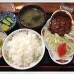20040211 - ハンバーグ定食950円                       2013.7