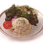 ちゃんこ屋 鈴木ちゃん - ポテトサラダ