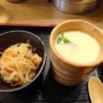 旬の味 菜々せ - 小鉢の切り干し大根&茶碗蒸し