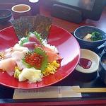 20042718 - ランチ 海鮮丼 2013/04