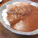 ブーメラン - 2013年 カツカレー大盛(並2倍500gぐらい+ 150円)