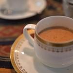 わのわカフェ - 食後のネパールのチャイ、スパイシー
