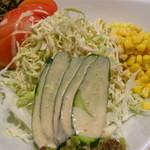 ビートきよしの鉄板屋 - コーンサラダ