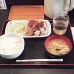 まんぷく食堂 - 竜田おろし定食¥500