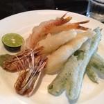 クラスカ - フリット盛り合わせ 天ぷらとイタリアンフリットの融合