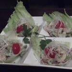 オイスターバー リベルタス - 小エビのカクテルサラダ