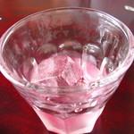 コトリカフェ - ローズジュース
