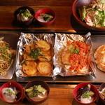 ふわとろ本舗 - ◆夏の鉄板焼コース【飲み放題付】3500円 ※写真は3人前