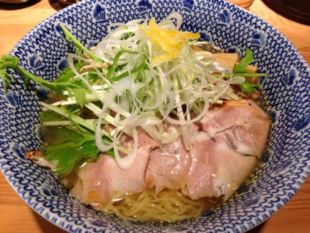 麺屋 司 - 「冷やしラーメン」750円