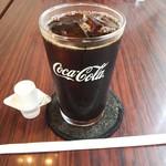 レンガ亭 - ランチドリンク(アイスコーヒー)