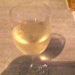 うめだ阪急ビアガーデンマルシェ - 桃のスパークリングワイン