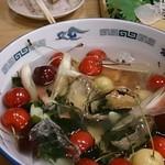 20070708 - 郷土料理その2ほやとさくらんぼ