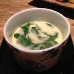 20071357 - 蟹味噌茶碗蒸し!